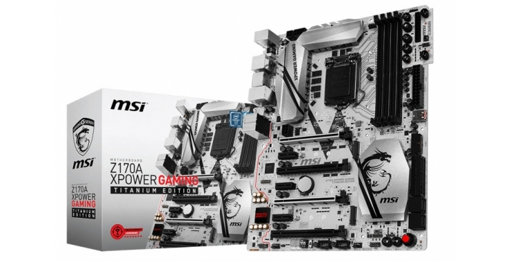 MSI: Mainboard-Flaggschiff Z170A XPOWER Gaming Titanium Edition für Skylake enthüllt (4)
