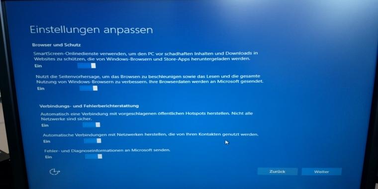 windows 10 upgrade später installieren
