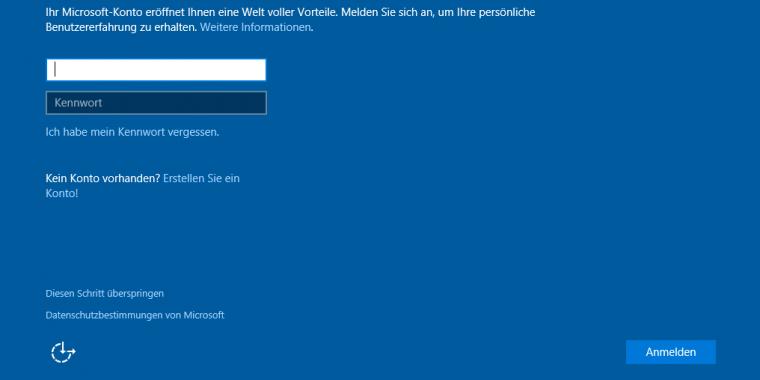 Ohne Anmeldung Bei Windows 10