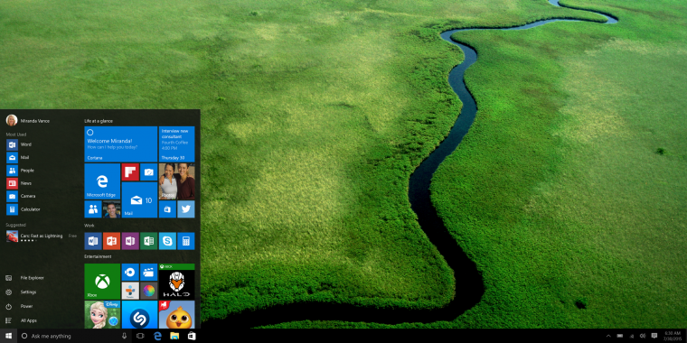 Windows 10: Apps auf SD-Karten zu verschieben, wird nachgereicht