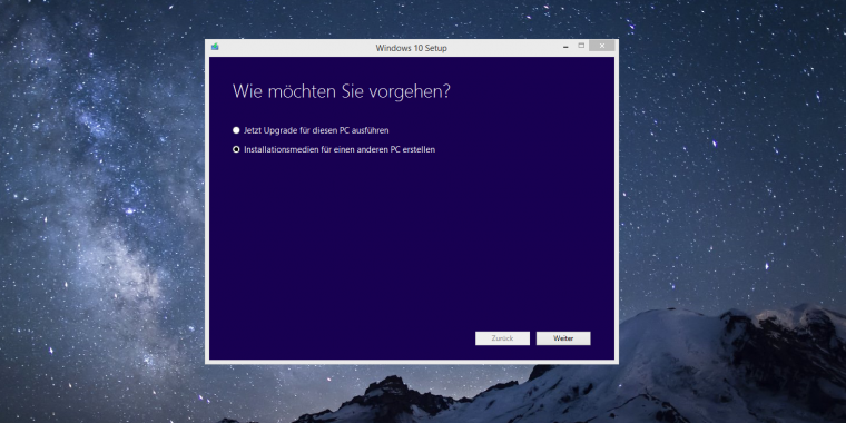 "Windows 10: Microsoft liefert ab sofort ""Threshold 1 Refresh"" aus"