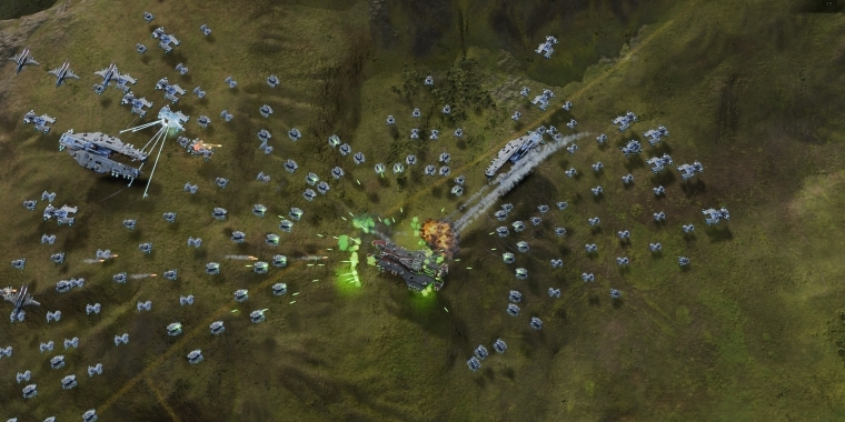 Ashes of the Singularity: Steam Early Access startet in einer Woche