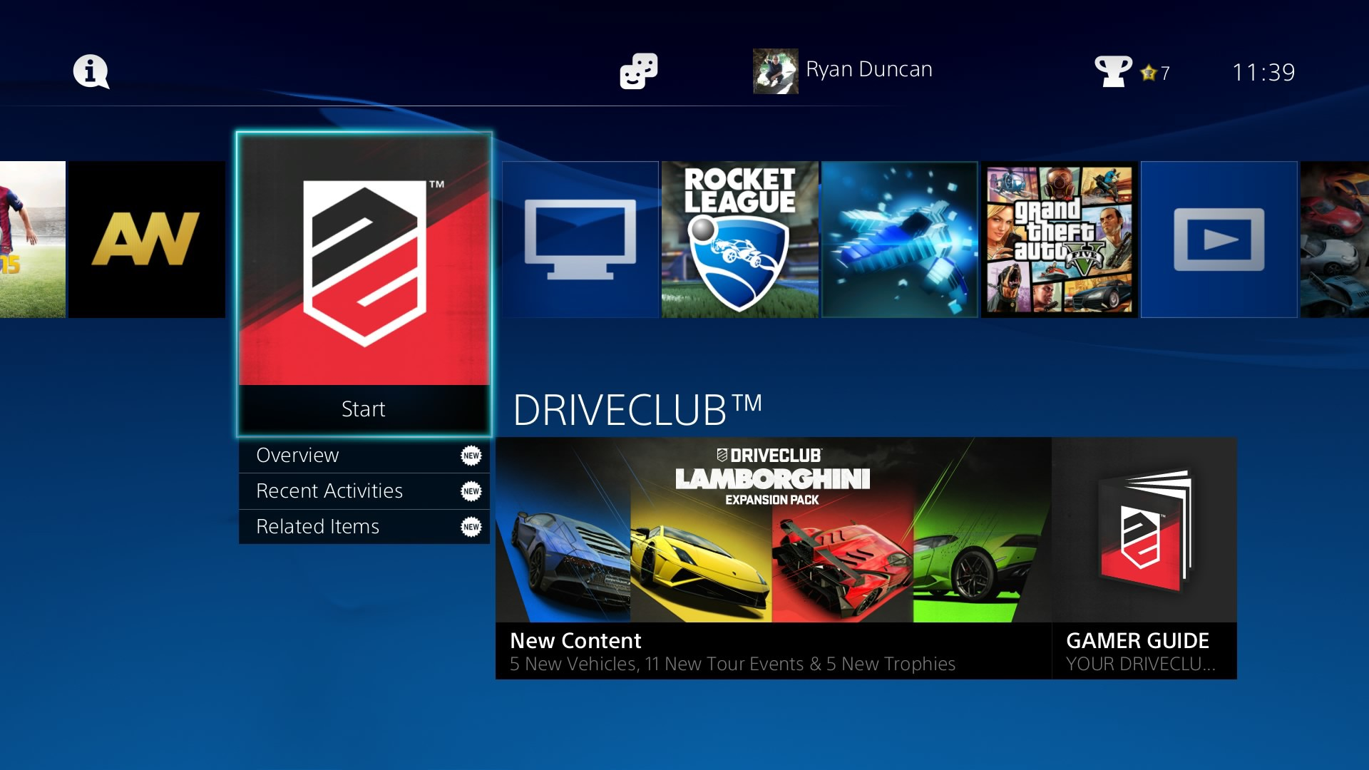 playstation 4 homescreen  1 -pcgh