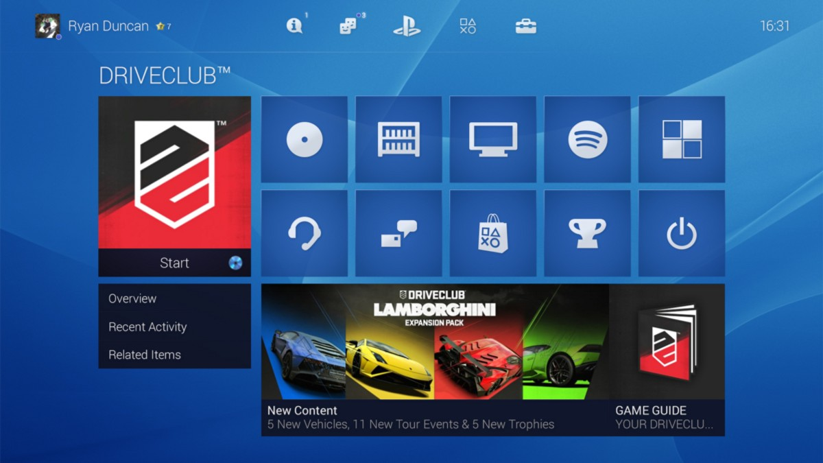 playstation 4 homescreen  2 -pcgh