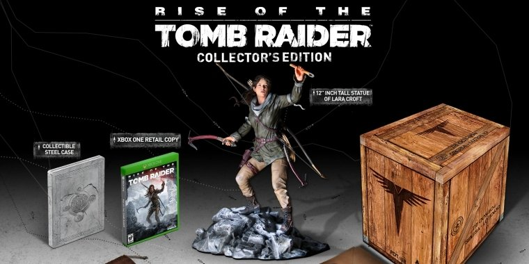 Rise of the Tomb Raider: Exklusive Collector's Edition für Xbox One angekündigt