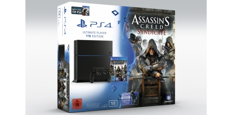 Sony hat ein PS4-Bundle mit Assassin's Creed: Syndicate angekündigt.