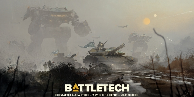 BattleTech: Kickstarter für Neuauflage des Strategiespiel-Klassikers am 29. September