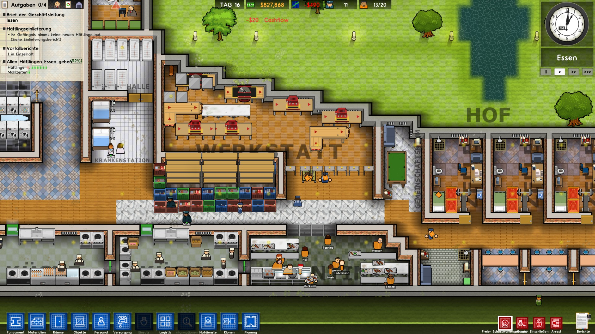 prison architect mods deutsch