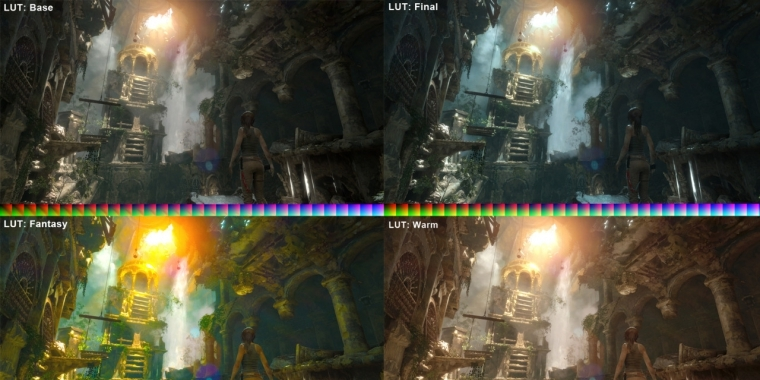 Rise of the Tomb Raider Colour Grading