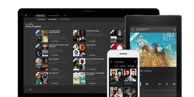 Amazon Prime Music startet in Deutschland