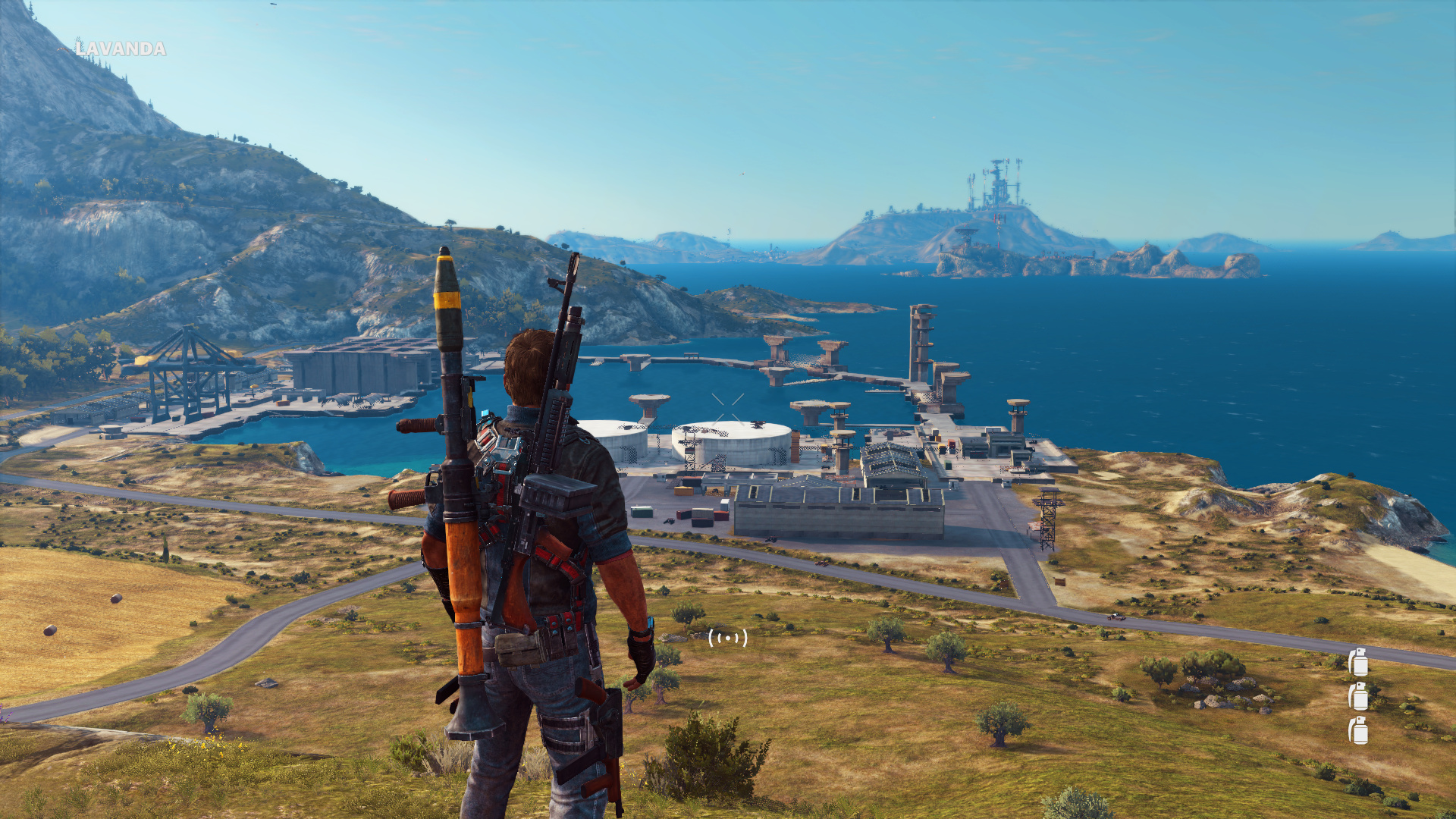 Just Cause 3 LOD Low-pcgh