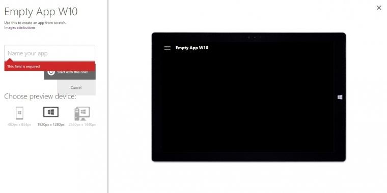 windows 10 selbst universal apps ohne programmieren erstellen. Black Bedroom Furniture Sets. Home Design Ideas
