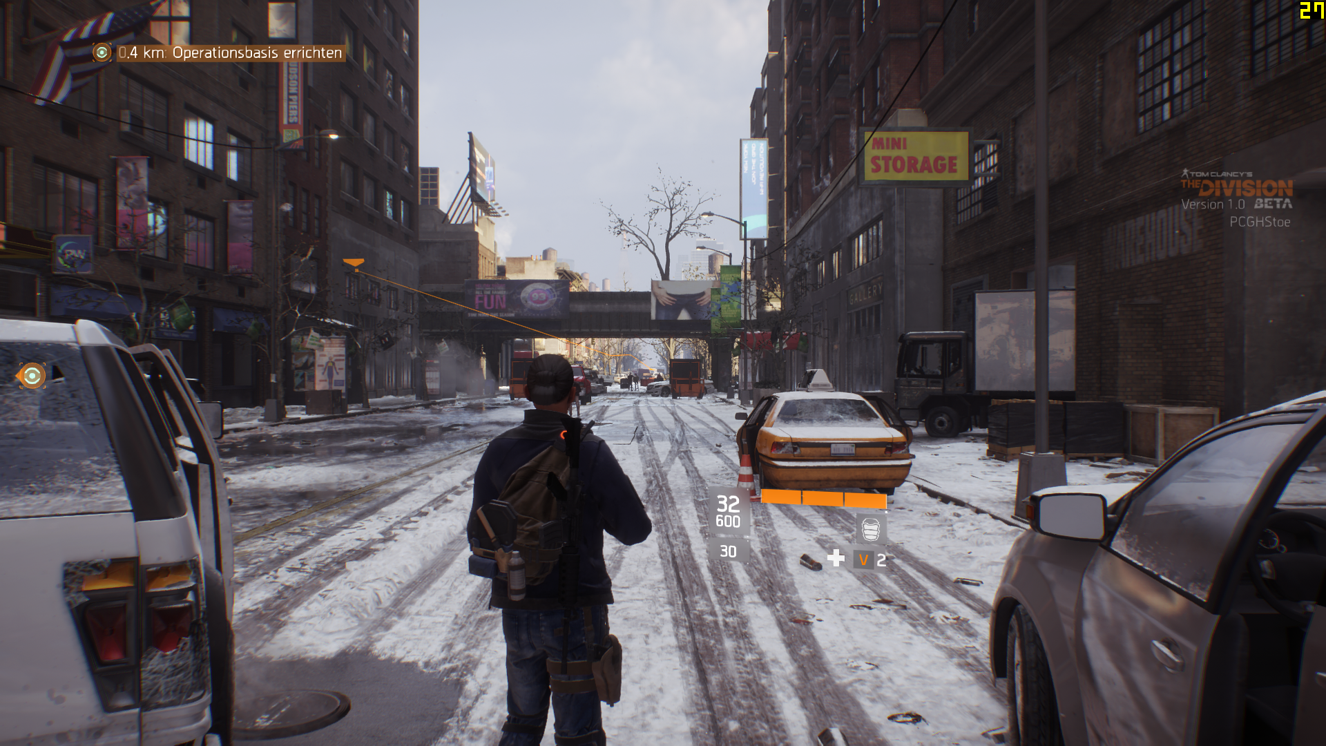 TheDivision 01 max - Benchmarksetting-pcgh