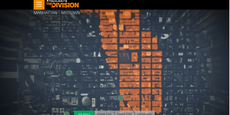The Division: Map-Vergleich mit Manhattan fast 1:1