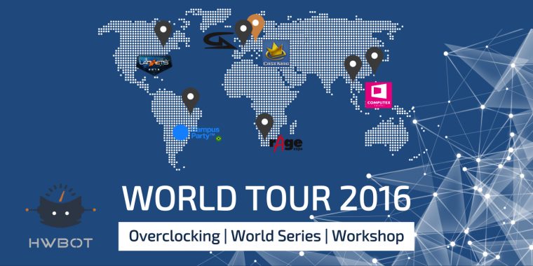 Hwbot World Tour 2016