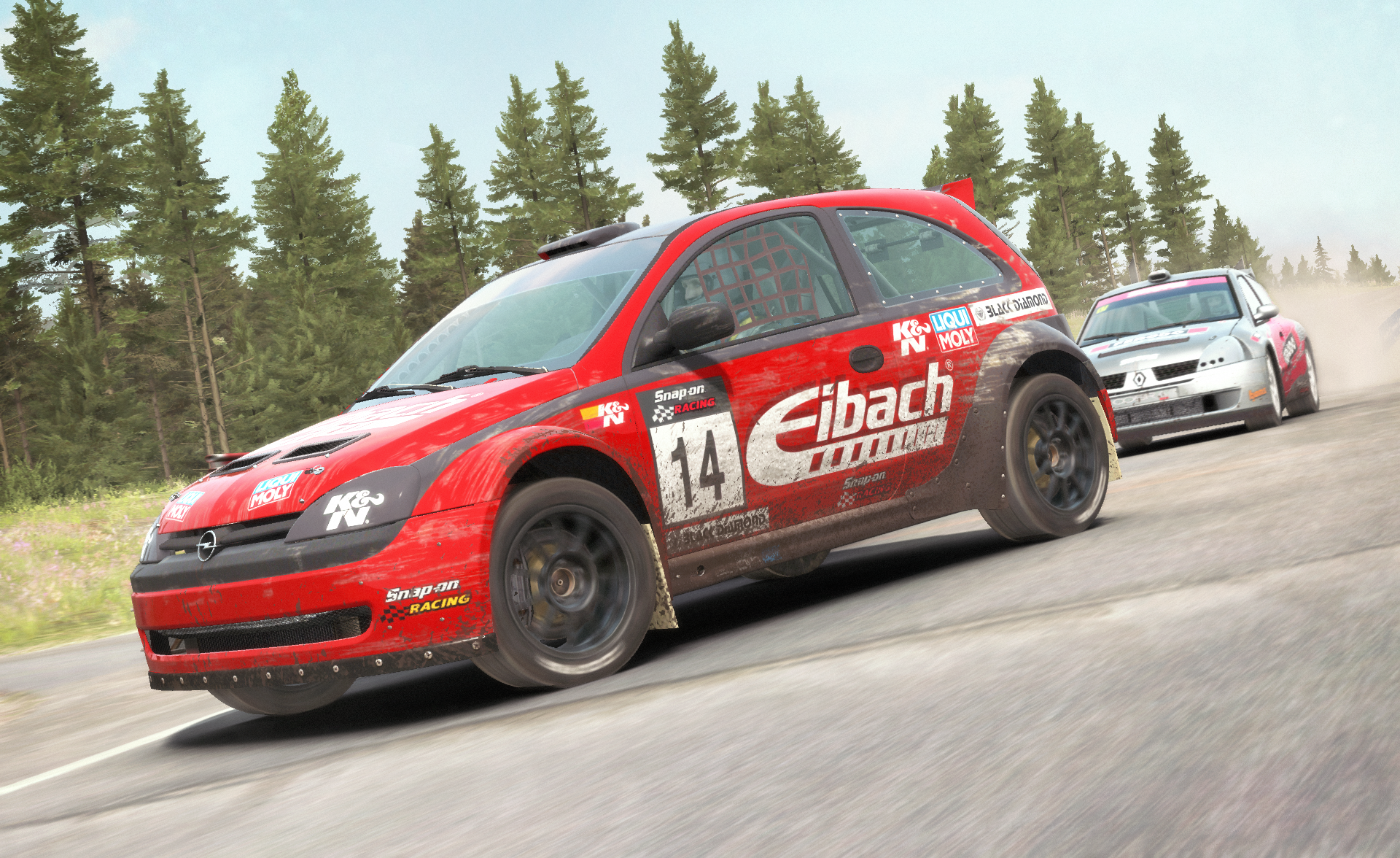 dirt rally immer aktuell. Black Bedroom Furniture Sets. Home Design Ideas