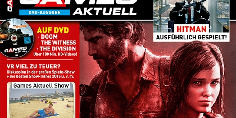 The Last of Us 2 in Games Aktuell 03/2016!