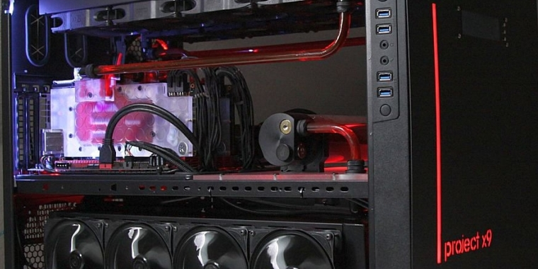 Casemod Project X9: Thermaltake-Gehäuse wird zur High-End-Behausung (79)