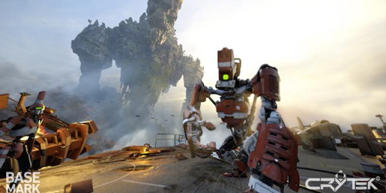 VR Score: VR-Benchmark von Basemark und Crytek auf Basis der