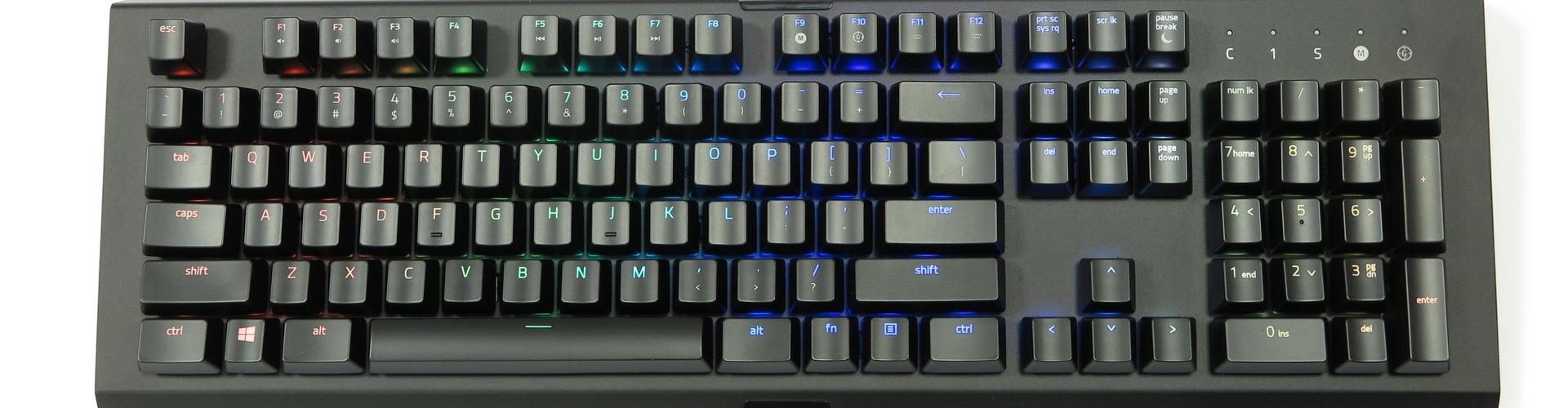 Razer Black Widow X Chroma Im Test Mehr Als Nur Modellpflege Keyboard Blackwidow Te