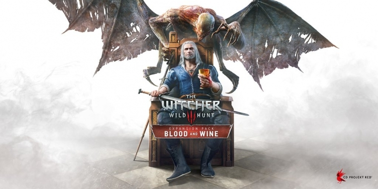 The Witcher 3: Cover von Blood & Wine