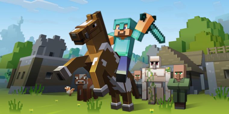 Minecraft Erhält Grafikupdate Und CrossPlattformUnterstützung - Minecraft ps4 pc zusammen spielen