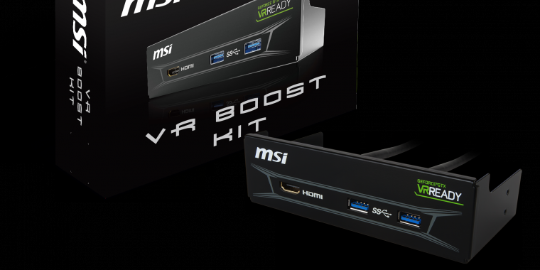 MSI VR-Boost-Kit