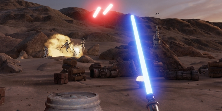 Star Wars: Trials on Tatooine - kostenlose Vive-Demo mit Laserschwert (4)