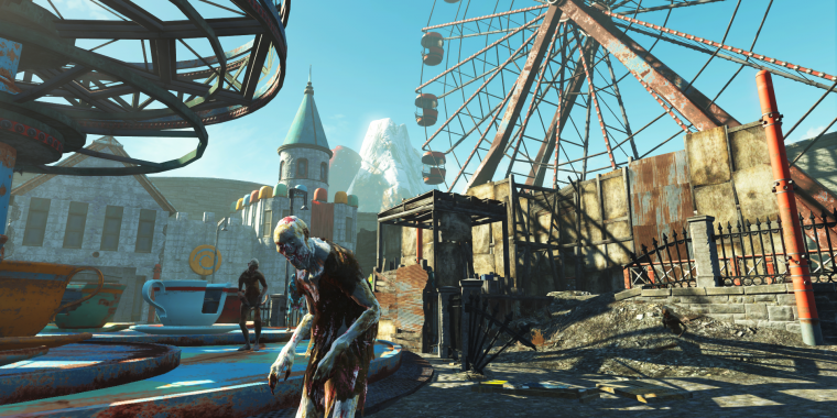 Fallout 4 - neues Update behebt Bug in Nuka World (1)
