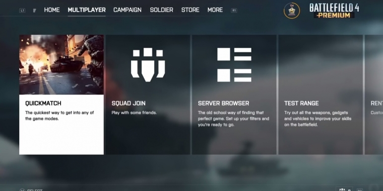 Battlefield 4: Patch bringt Battlefield 1 Interface auf die PS4 und Xbox One