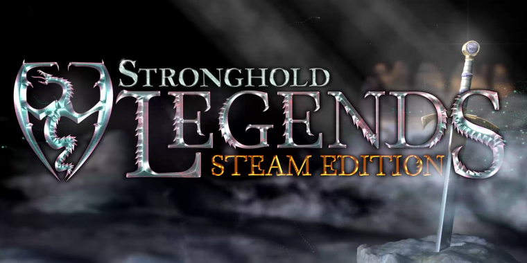 Stronghold Legends: Steam Edition Logo aus dem Trailer