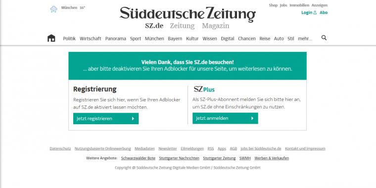 Süddeutsche zeitung online partnersuche