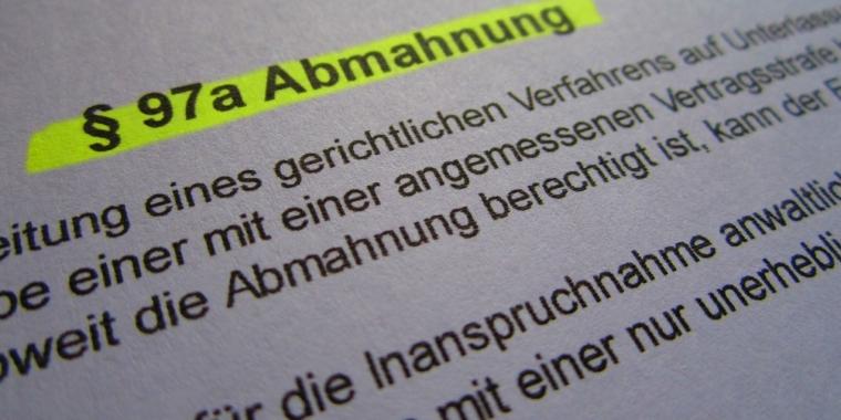 Filesharing Fake Abmahnungen Von Waldorf Frommer Im Umlauf