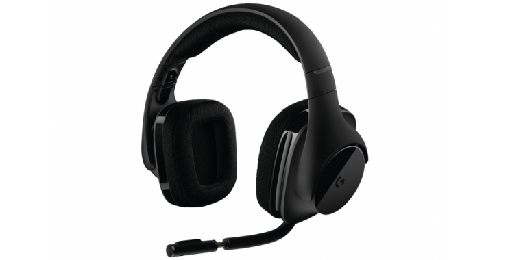 logitech stellt neues kabelloses g533 gaming headset mit 7. Black Bedroom Furniture Sets. Home Design Ideas
