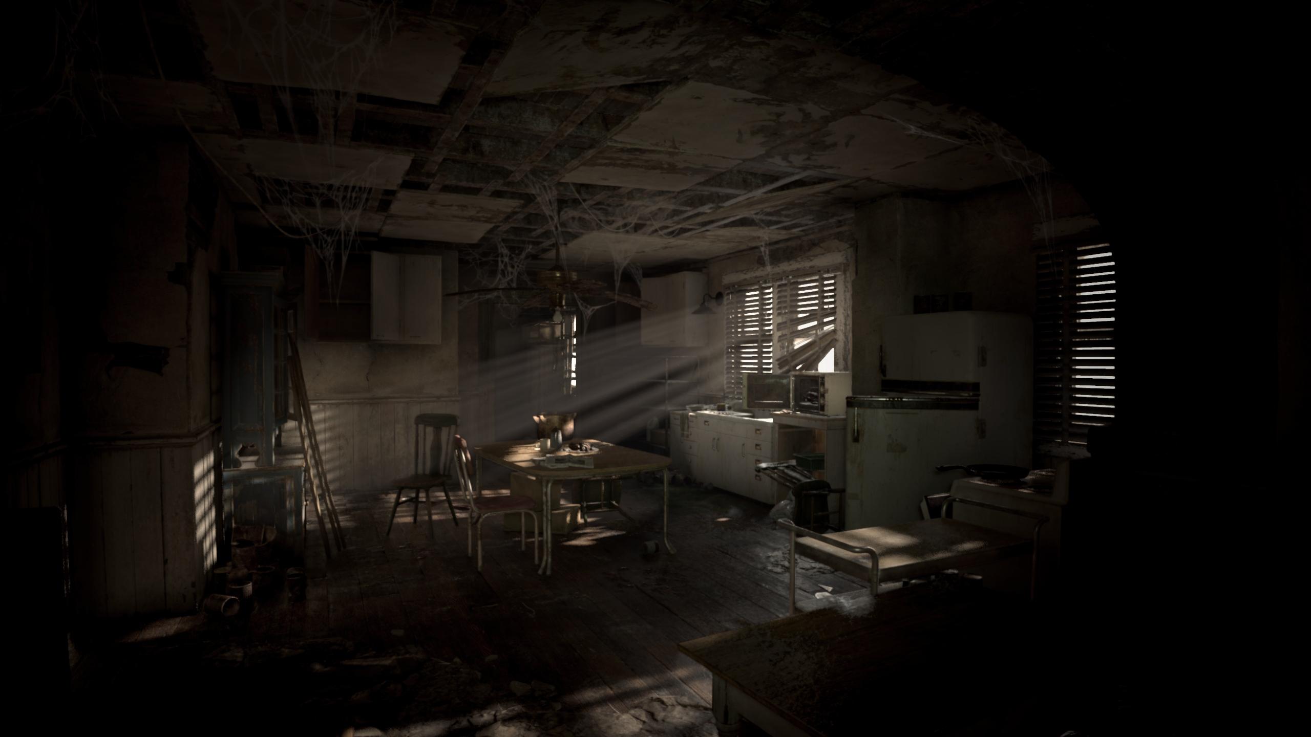 Resident Evil 7 Biohazard - Die PCGH-Benchmarkszene