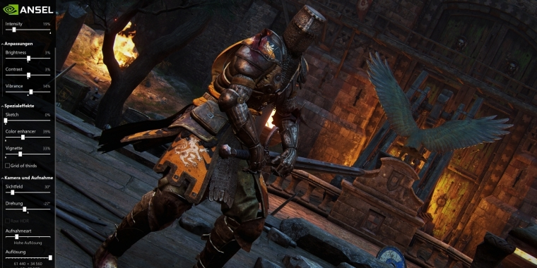 For Honor: Nvidia Ansel in Single-Player integriert