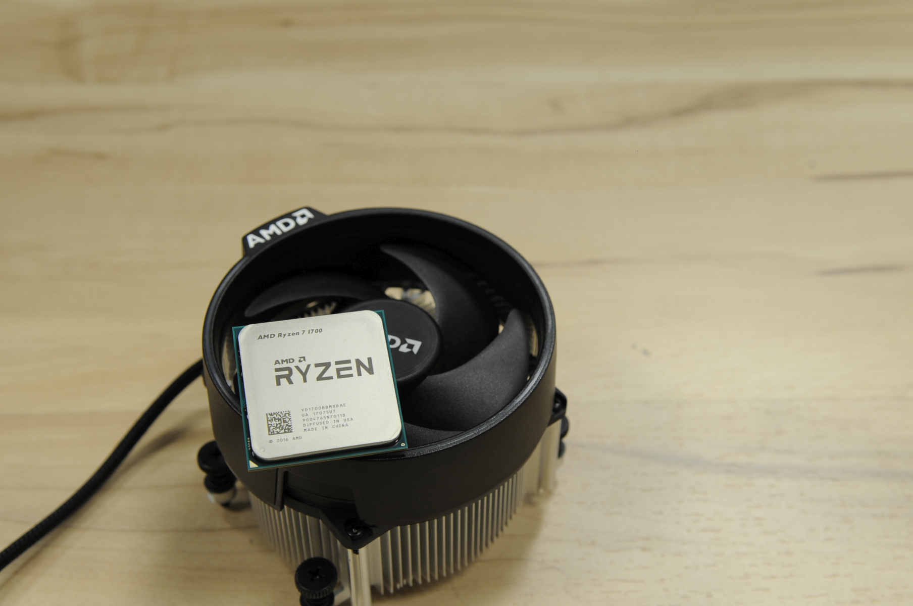 Info Needed from Ryzen 1700 Owners : Height of Wraith Spire