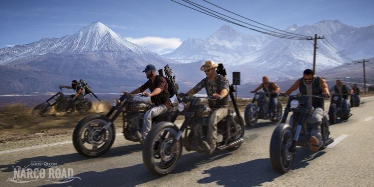 Ghost Recon Wildlands Dlc Release Von Narco Road Erhält Negative