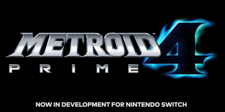 Metroid Prime 4 Logo Entwicklung startet neu
