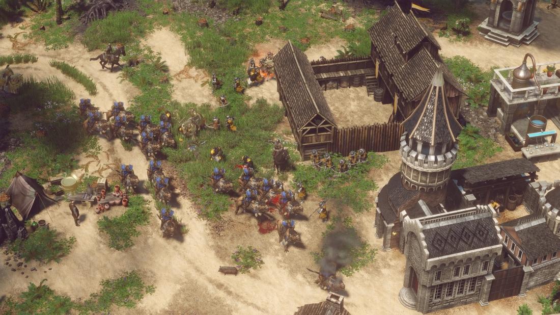 Spellforce 3 Gespielt Age Of Empires Trifft Schlacht Um