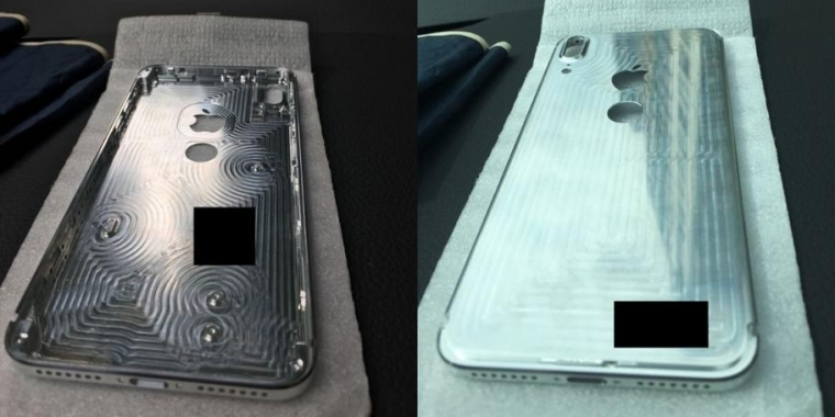 Apple IPhone 8 Gehause Leaks Zeigen Fingerabdrucksensor Auf Der Ruckseite