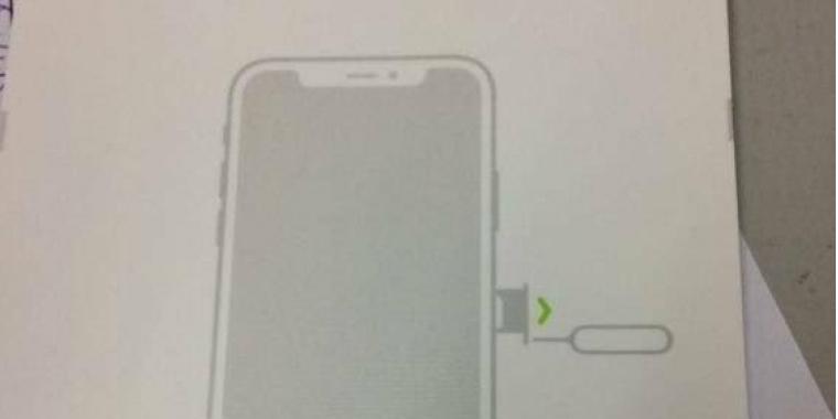 Iphone Sim Karte Einsetzen.Iphone 8 Und Das Rahmenlose Display Angebliche Sim Karten Anleitung