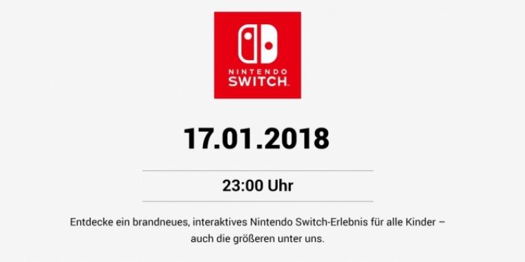 nintendo switch spiele 2018