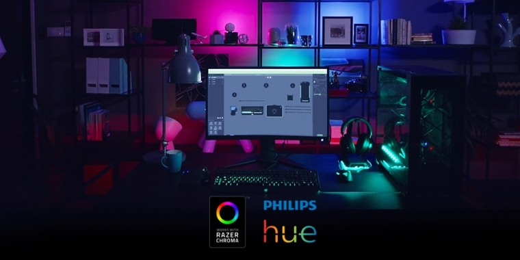 philips razer hue lampen k nftig mit razer synapse kompatibel. Black Bedroom Furniture Sets. Home Design Ideas