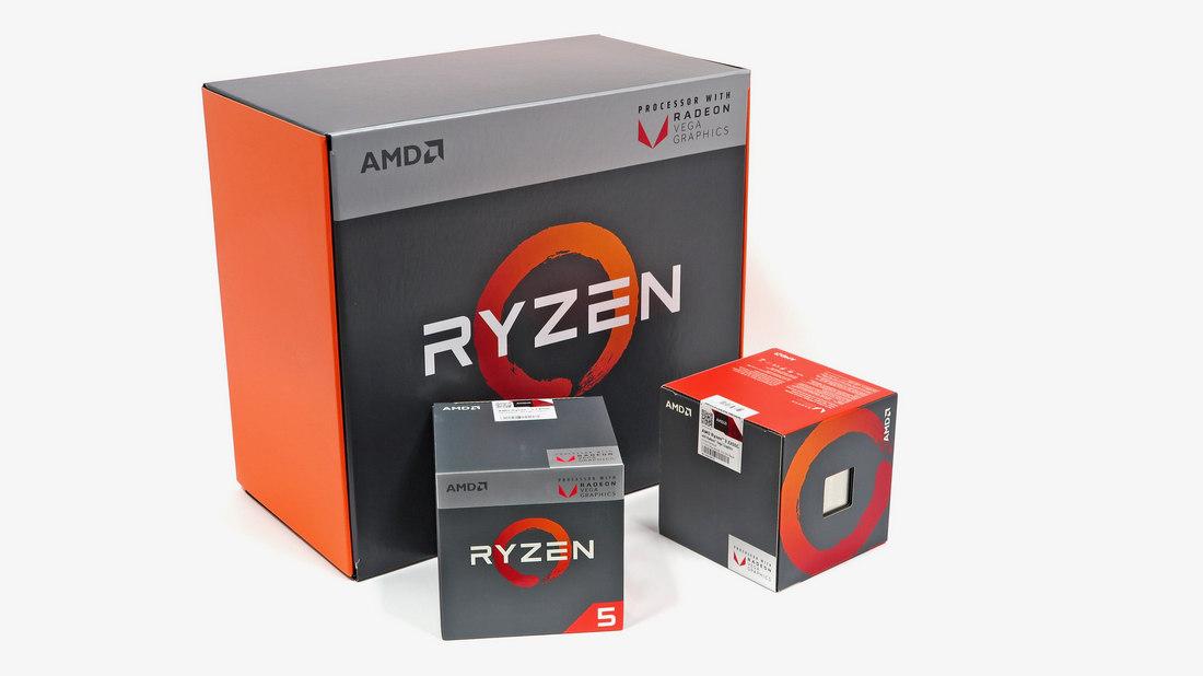 AMD Ryzen 5 2400G und Ryzen 3 2200G im Test: Benchmarks