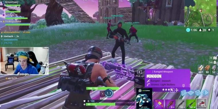 Twitch Streamer Ninja 10 Millionen Us Dollar Mit Fortnite In Diesem