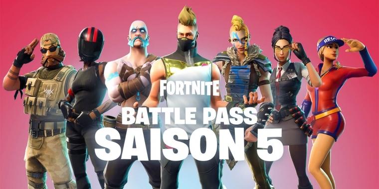 Fortnite Battle Royale Season 5 Battle Pass Und Alle Inhalte
