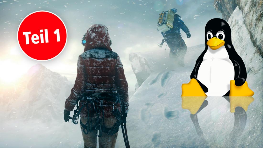 PLUS] Linux gegen Windows 10: Wie gut klappt das Spielen?