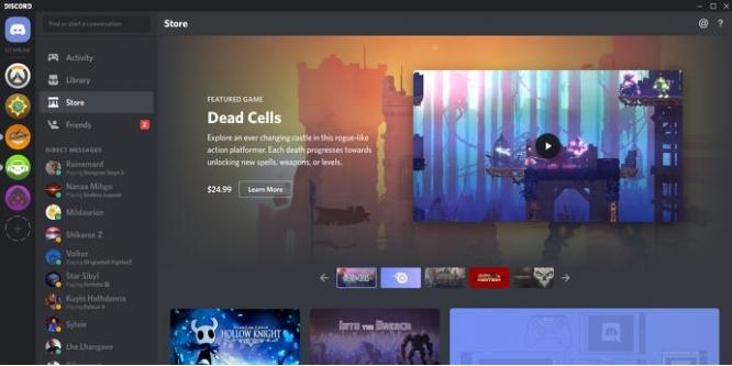 Discord Game Store 150 Millionen Us Dollar Starthilfe Für Game Shop