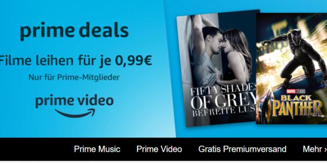 Amazon Prime Video 99 Cent Filme Erstmals Nur Für Prime Mitglieder
